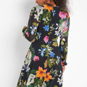 Nagy virágokkal díszített ruha ORSAY