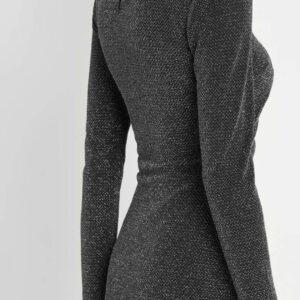 Csillogó szálas ruha ORSAY