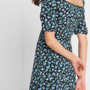 Virágmintás fodros ruha ORSAY