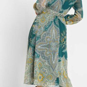 Paisley mintás ruha ORSAY