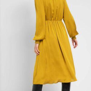 Csipkés szatén ruha ORSAY