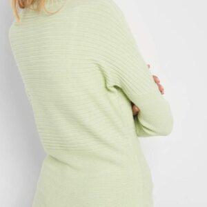 Félgarbós denevérujjú pulóver ORSAY