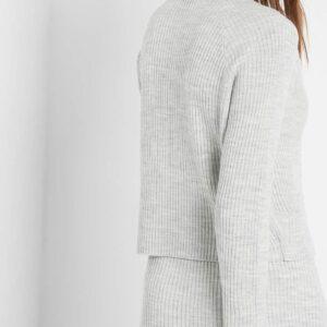 Bordázott pulóver ORSAY