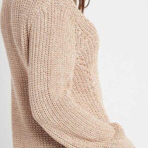 Azsúros mintás pulóver ORSAY