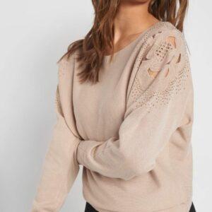 Strasszköves pulóver ORSAY