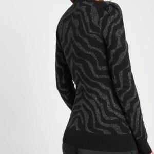 Zebramintás pulóver ORSAY