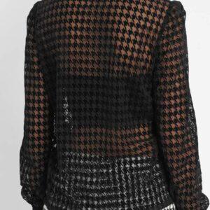 Pepita mintás áttetsző ing ORSAY