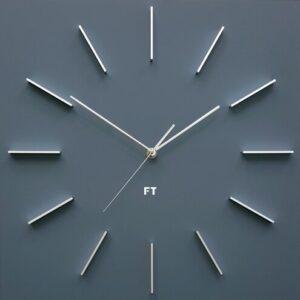 Future Time FT1010GY Square grey Design falióra