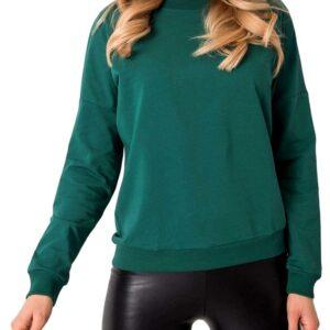 Sötétzöld pulóver