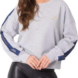 szürke női pulóver