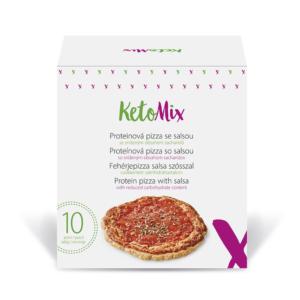 Fehérjepizza salsa szósszal (10 adag) - Proteindús ételek KETOMIX