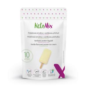 Vaníliaízű protein fagylalt (10 adag) - Proteindús ételek KETOMIX