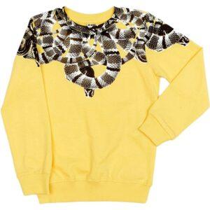 Fiú sárga pulóver
