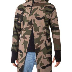 Khaki álcázó pulóver ingyenes rögzítéssel✅ - Basic