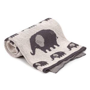 4Home Elephant gyerek pamut pléd