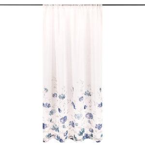 4Home Floral függöny kék