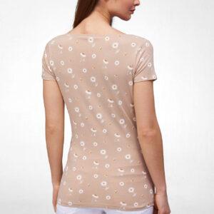 Mintás karcsúsított póló ORSAY