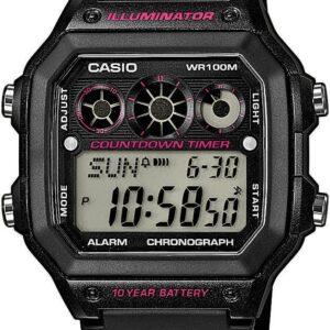 Női karóra Casio Collection AE-1300WH-1A2VEF - Vízállóság: 100m
