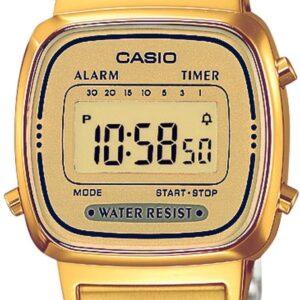 Női karóra Casio Retro Vintage LA670WGA-9EF - LA670WEGA-9EF - A számlap színe: LCD