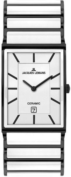 Női karóra Jacques Lemans York Ceramic 1-1593C - A számlap színe: fehér