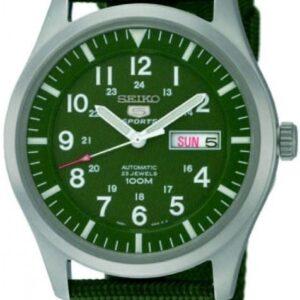 Női karóra Seiko Automatic SNZG09K1 - A számlap színe: zöld