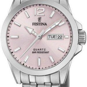 Női karóra Festina Classic 20455/2 - A számlap színe: rózsaszín