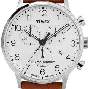Női karóra Timex Waterbury Classic Chrono TW2T28000 - Vízállóság: 30m (páraálló)
