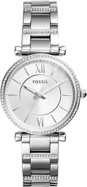 Női karóra Fossil Carlie ES4341 - A számlap színe: ezüst