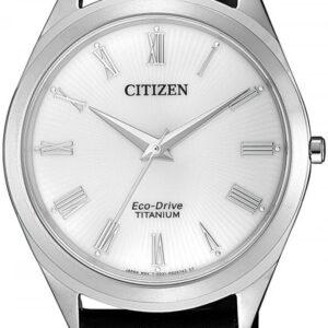 Női karóra Citizen Titanium BJ6520-15A - A számlap színe: ezüst