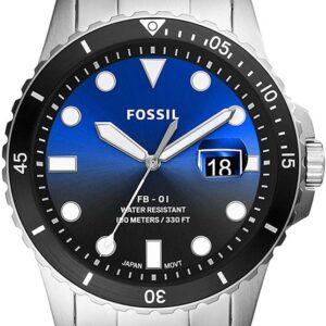 Női karóra Fossil FS5668 - A számlap színe: fekete - kék