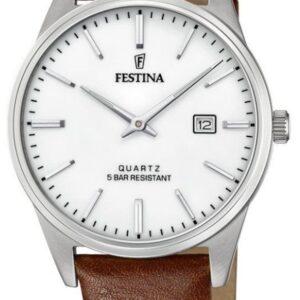 Női karóra Festina Classic 20512/2 - Vízállóság: 50m (felszíni úszás)
