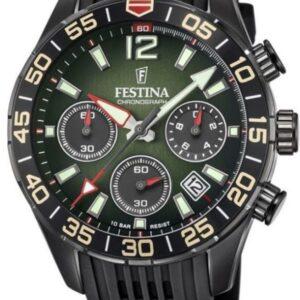Női karóra Festina Chrono Sport 20518/2 - A számlap színe: zöld