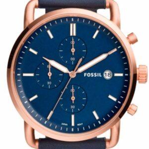 Női karóra Fossil Commuter FS5404 - A számlap színe: kék