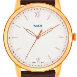 Női karóra Fossil Minimalist FS5463 - A számlap színe: fehér
