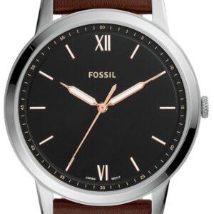 Női karóra Fossil Minimalist FS5464 - A számlap színe: fekete