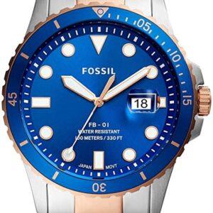 Női karóra Fossil FS5654 - A számlap színe: kék