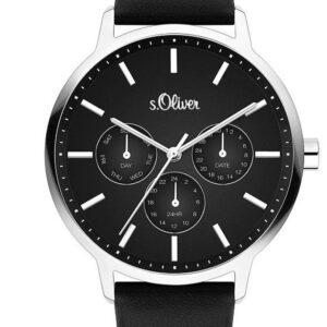 Női karóra s.Oliver S. Oliver SO-4165-LM - A számlap színe: fekete
