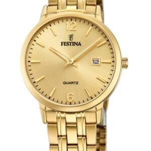 Női karóra Festina Classics 20514/3 - A számlap színe: arany