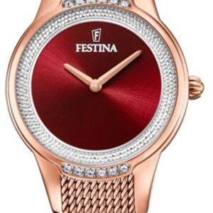 Női karóra Festina Mademoiselle 20496/1 - A számlap színe: piros