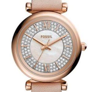 Női karóra Fossil Carlie Mini ES4839 - A számlap színe: rózsaszín gyöngyház