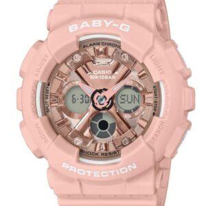 Női karóra Casio Baby-G BA-130-4AER - A számlap színe: rózsaszín