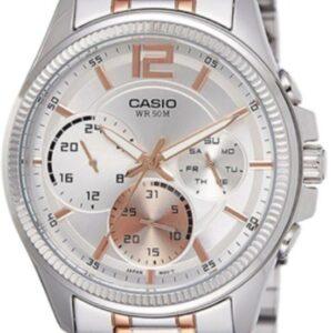 Női karóra Casio Classic MTP-E305RG-7A - A számlap színe: ezüst