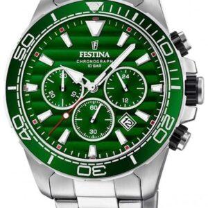 Női karóra Festina 20361/5 - A számlap színe: zöld