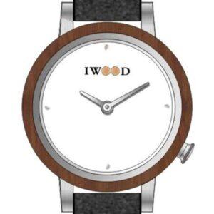 Női karóra Iwood Real Wood IW18443003 - A számlap színe: fehér