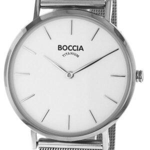 Női karóra Boccia Titanium Superslim 3273-09 - A számlap színe: fehér