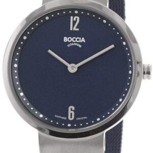 Női karóra Boccia Titanium Dress 3283-04 - A számlap színe: kék