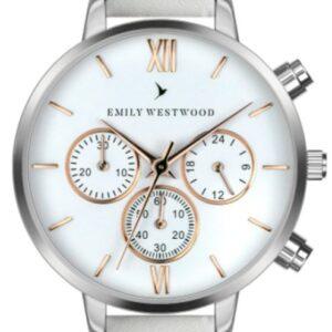 Női karóra Emily Westwood Araluen ECM-0014S - A számlap színe: fehér