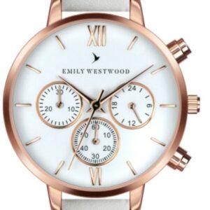 Női karóra Emily Westwood Baalijin ECN-0014R - A számlap színe: fehér