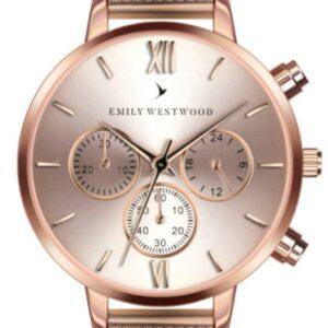 Női karóra Emily Westwood Wingen ECO-3214 - A számlap színe: fehér