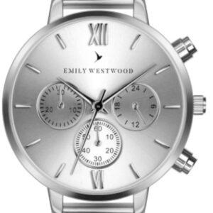Női karóra Emily Westwood Willie Willie ECP-2514 - A számlap színe: ezüst